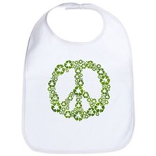 Green Recycle Peace Bib