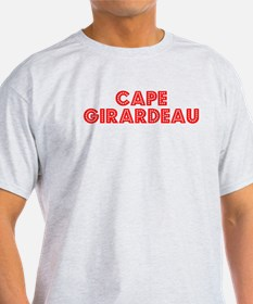 Retro Cape Girardeau (Red) T-Shirt