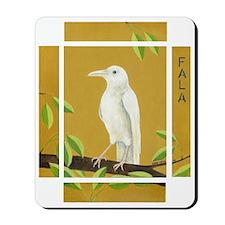 Albino Crow Mousepad