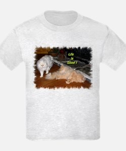 Life is Good - Persian Cats T-Shirt