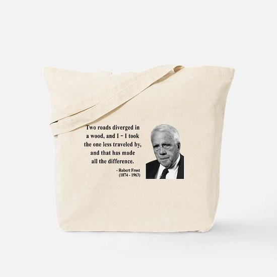 Robert Frost 1 Tote Bag