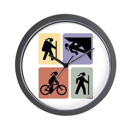 Multi Sport Grrls: Wall Clock