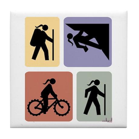 Multi Sport Grrls: Tile Coaster