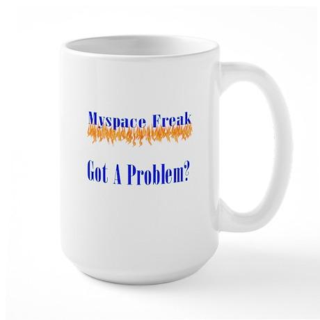 MySpace Freak Large Mug