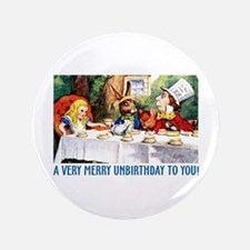 "A Very Merry Unbirthday! 3.5"" Button (100 pack)"