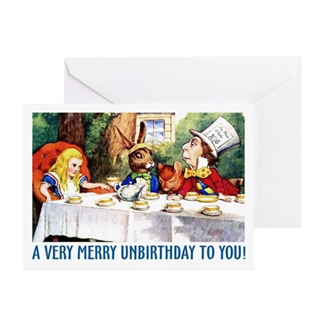 A Very Merry Unbirthday! Greeting Cards (Pk of 10)