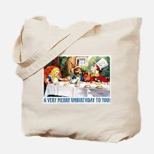 A Very Merry Unbirthday! Tote Bag