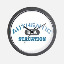 Authentic USA Stacation Wall Clock
