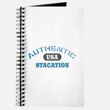 Authentic USA Stacation Journal