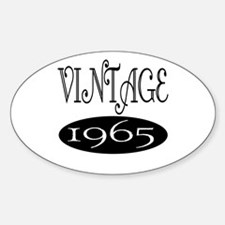 1965 Oval Decal