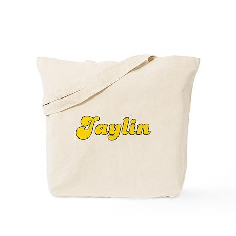 Retro Jaylin (Gold) Tote Bag