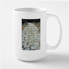 In Step with God Mug
