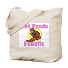 Red Panda Fanatic Tote Bag