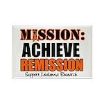 Mission Remission Leukemia Rectangle Magnet (10 pa