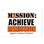 Mission Remission Leukemia Postcards (Package of 8