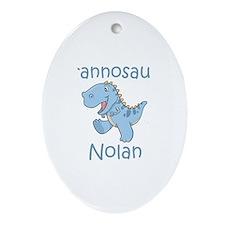 Tyrannosaurus Nolan Oval Ornament