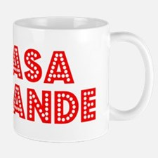 Retro Casa Grande (Red) Mug