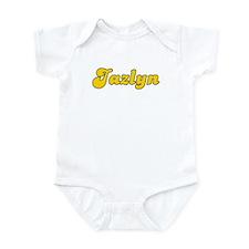 Retro Jazlyn (Gold) Infant Bodysuit