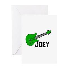 Guitar - Joey Greeting Card