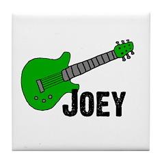 Guitar - Joey Tile Coaster