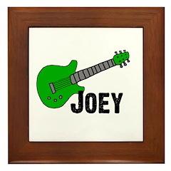 Guitar - Joey Framed Tile
