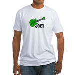 Guitar - Joey Fitted T-Shirt