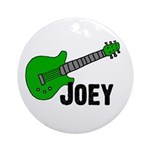 Guitar - Joey Ornament (Round)