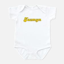 Retro Jazmyn (Gold) Infant Bodysuit