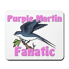 Purple Martin Fanatic Mousepad