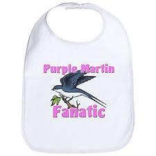 Purple Martin Fanatic Bib