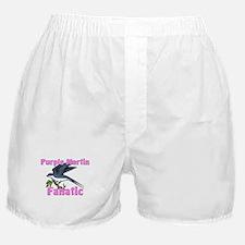 Purple Martin Fanatic Boxer Shorts