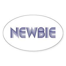 Newbie Oval Sticker (10 pk)