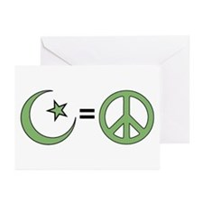 Islam = Peace Greeting Cards (Pk of 10)