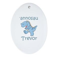 Tyrannosaurus Trevor Oval Ornament