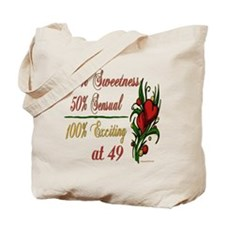 Exciting 49th Tote Bag