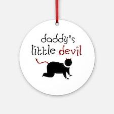 Daddy's Little Devil Keepsake (Round)