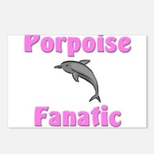 Porpoise Fanatic Postcards (Package of 8)