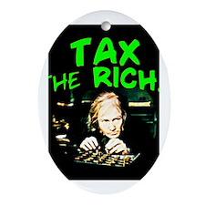 Tax the Oval Ornament