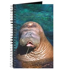 Walrus Eyes Closed Journal
