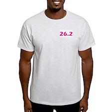 That darn .2 Pink 26.2 T-Shirt