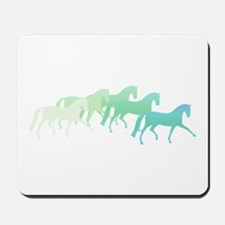 extended trot greens Mousepad