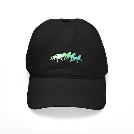 extended trot greens Black Cap