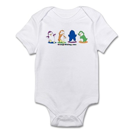 Dancing Penguins Infant Bodysuit
