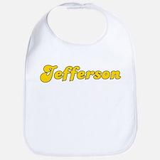 Retro Jefferson (Gold) Bib