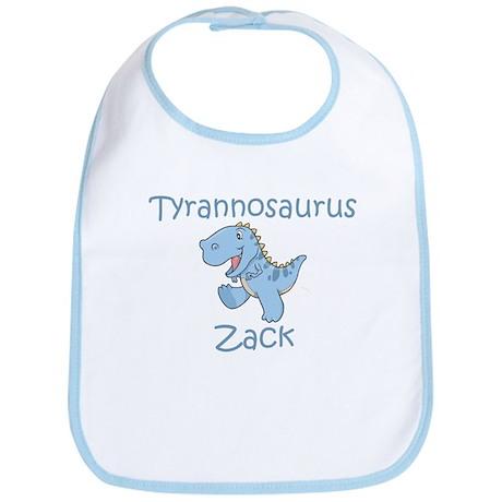 Tyrannosaurus Zack Bib