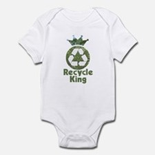 Recycle King Infant Bodysuit