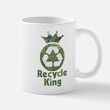 Recycle King Small Small Mug