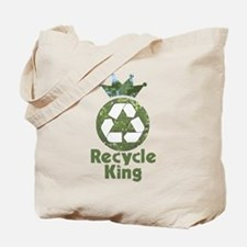 Recycle King Tote Bag