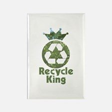 Recycle King Rectangle Magnet (100 pack)