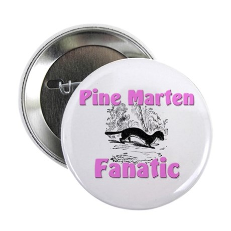 "Pine Marten Fanatic 2.25"" Button"